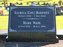 Barfoot Headstone