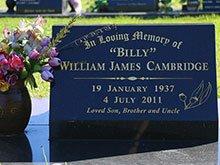 Cambridge Headstone