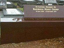 Imperial Red Barbara Mark Crump Memorial Byron Bay