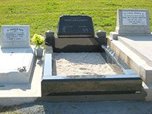 Trevor James Garret Memorial and Enclosure